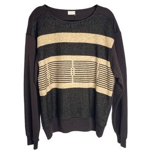 new Dries Van Noten ✦ Boucle Mix Media Jumper ✦